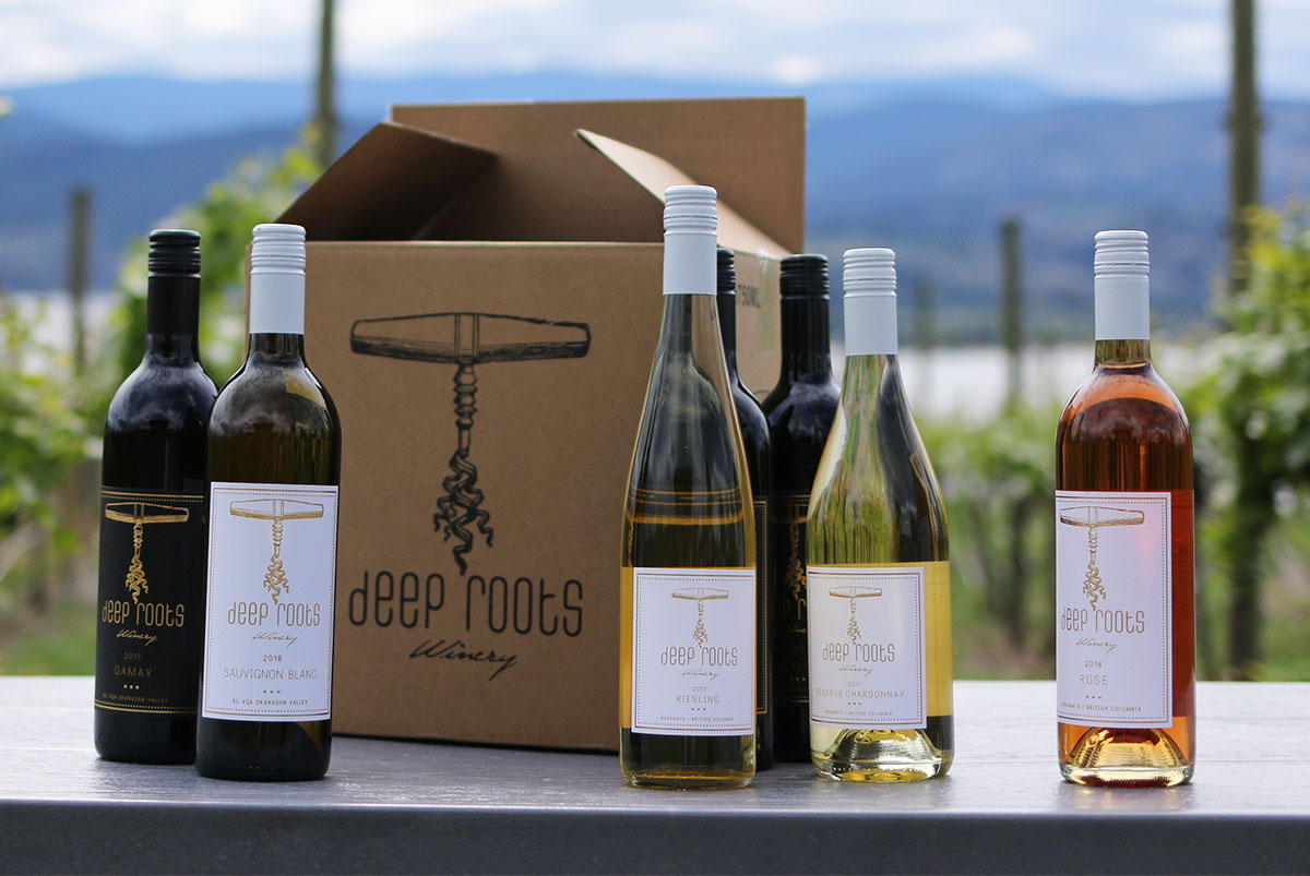 Okanagan Wine Club Deep Roots Winery